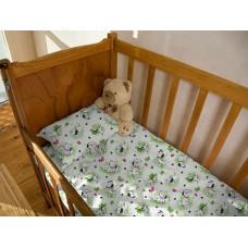 Комплект детского постельного белья Далматинец фланель(байка)