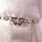 Женские пояса и цепочки