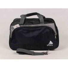Дорожная сумка AMZ черная текстиль