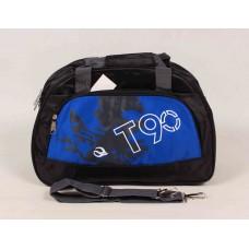 Дорожная сумка синяя текстиль размер 430x280x170