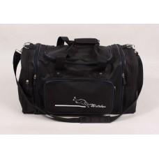"Дорожная сумка ""Wallaby"" черная текстиль размер 520x300x250"