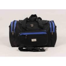 Дорожная сумка Kaiman черная текстиль