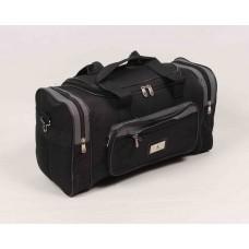 Дорожная сумка Altkam черно-серого цвета текстиль