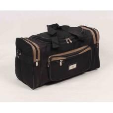 Дорожная сумка American Austin черно-коричневого цвета текстиль