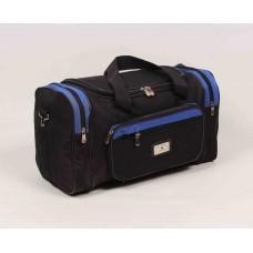 Дорожная сумка Alldays & Onions черно-синего цвета текстиль