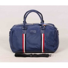 Дорожная сумка синяя текстиль размер 500x290x250
