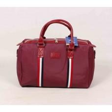 Дорожная сумка красная текстиль размер 500x290x250
