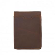 """Мужской кошелек """"Tiding Bag"""" коричневый натуральная кожа ручная работа"""