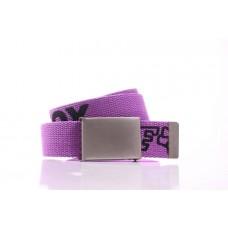 Мужской ремень Milburn фиолетовый текстиль