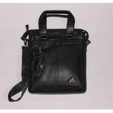 Мужская барсетка Bao черная с наружным карманом