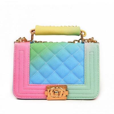 Женская сумка Bobby экокожа разноцветная