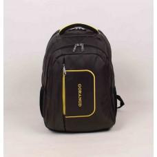 Мужской рюкзак Gorangd черно-желтого цвета нейлон