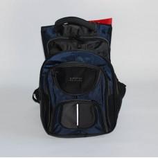 Мужской рюкзак Gorangd сине-черного цвета нейлон