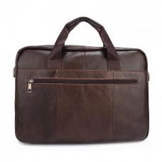 Мужская сумка  Texas коричневая натуральная кожа ручная работа