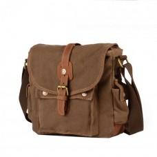 Мужская сумка Augur ST коричневая натуральная кожа