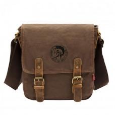 Мужская сумка  Augur Brave коричневая натуральная кожа