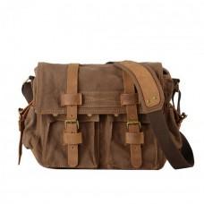 Мужская сумка Augur Classic коричневая натуральная кожа