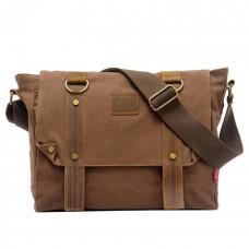Мужская сумка Augur CV коричневая натуральная кожа