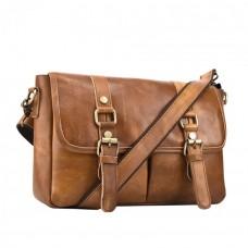 Мужская сумка  Texas CV коричневая натуральная кожа ручная работа