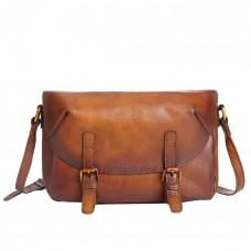 Мужская сумка Texas MS коричневая натуральная кожа ручная работа