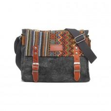 Мужская сумка Augur VF серая натуральная кожа