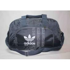 Спортивная сумка Adidas серая текстиль