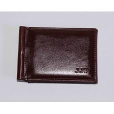 Зажим для купюр JJF искусственная кожа размер 113x78х20