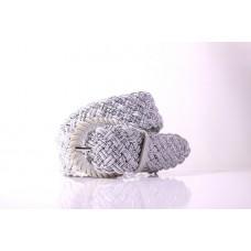Женский ремень Аир белый текстиль- стропа