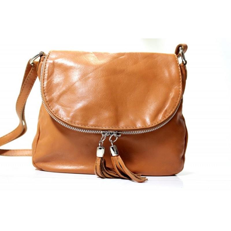 d53d36ddcc7d Женская сумка Ирина натуральная кожа коричневая (Италия)