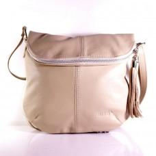 Женская сумка Miko бежевая (Италия)