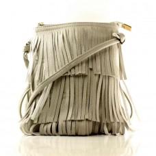 Женская сумочка Мирра серая кожзам