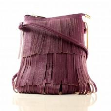 Женская сумочка Мельпомена фиолетовая кожзам
