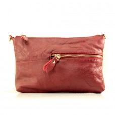 Женская сумочка через плечо Агата красная
