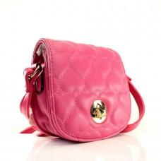 Женская сумочка-клатч малиновая кожзам размер 150x60x130