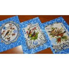 Кухонное полотенце Барокко голубой