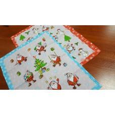Кухонное полотенце Санта