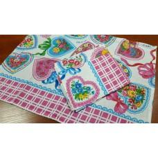 Кухонное полотенце Сердечки