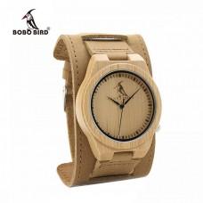 Мужские бамбуковые часы Bobo Bird Decus