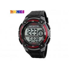 Мужские спортивные часы Skmei красно-черного цвета