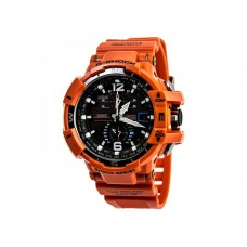 Мужские спортивные часы Casio оранжевого цвета