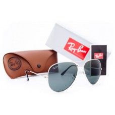 Мужские солнцезащитные очки Ray-Ban Aviator Dark Grey