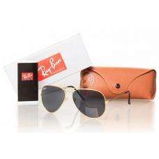 Мужские солнцезащитные очки Ray-Ban Aviator Black