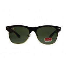 Мужские зеркальные солнцезащитные очки Ray-Ban Wayfarer черные