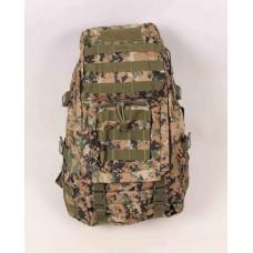 Рюкзак тактический хаки коричневый оксфорд размер 540x350x220