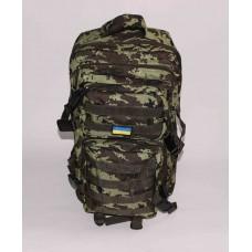 Рюкзак тактический хаки оксфорд размер 470x300x300