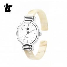Женские механические часы Tinlap Bracelet White, Black, Leopard