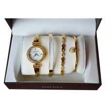 Женские механические часы Anne Klein AK842 с 3 браслетами