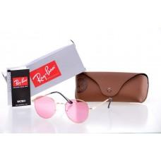 Женские солнцезащитные очки Ray Ban Round Metal Pink