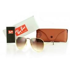 Женские солнцезащитные очки Ray Ban Aviator Brown