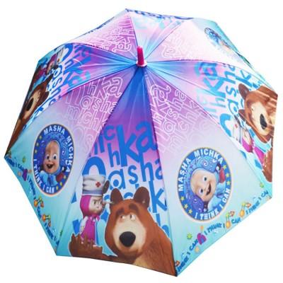"""Детский зонтик-трость """"Маша и медведь"""""""